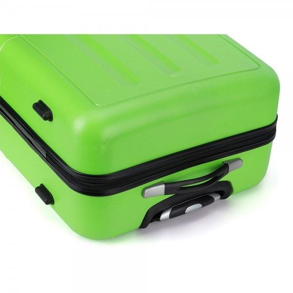 Decent Neon-Fix Trolley 66 appelgroen Harde Koffer van ABS