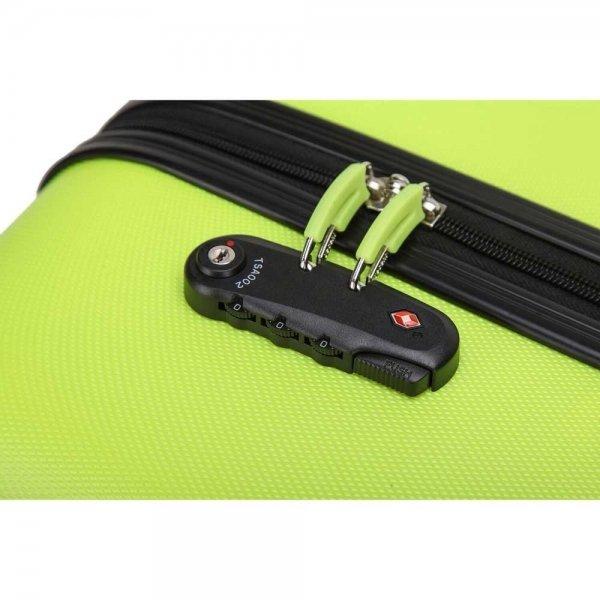 Decent Neon-Fix Trolley 66 lemon Harde Koffer