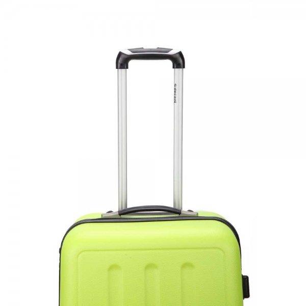 Decent Neon-Fix Trolley 76 lemon Harde Koffer van ABS