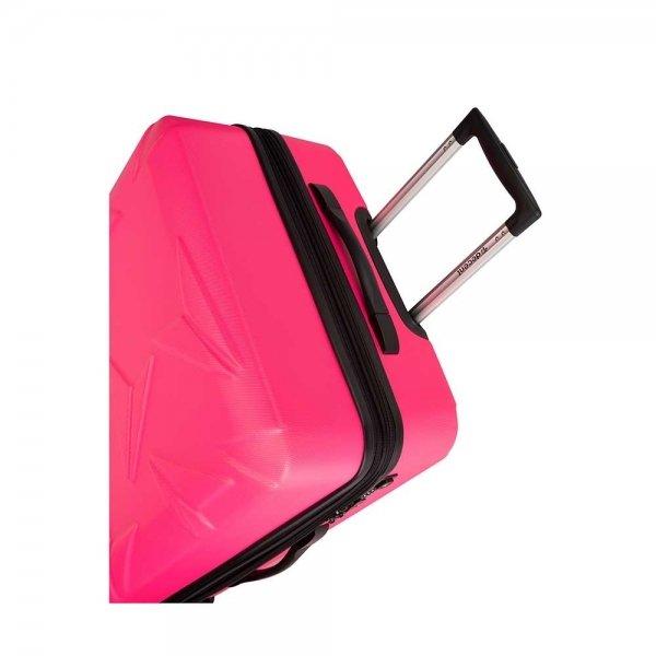 Decent Q-Luxx Trolley 67 pink Harde Koffer
