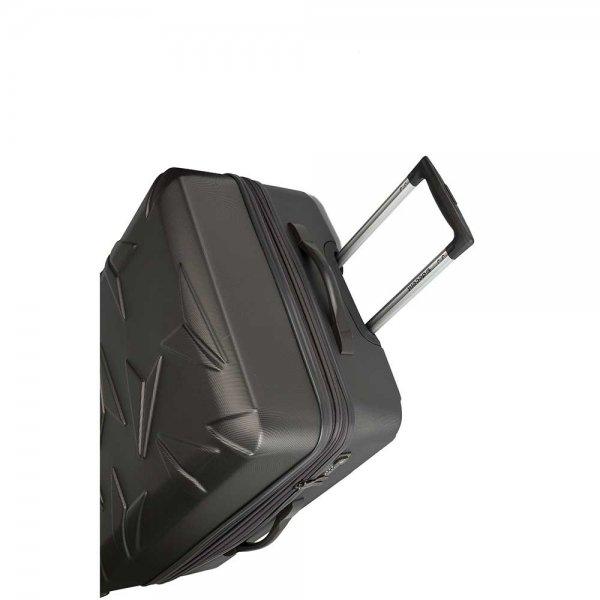 Decent Q-Luxx Trolley 77 antraciet Harde Koffer