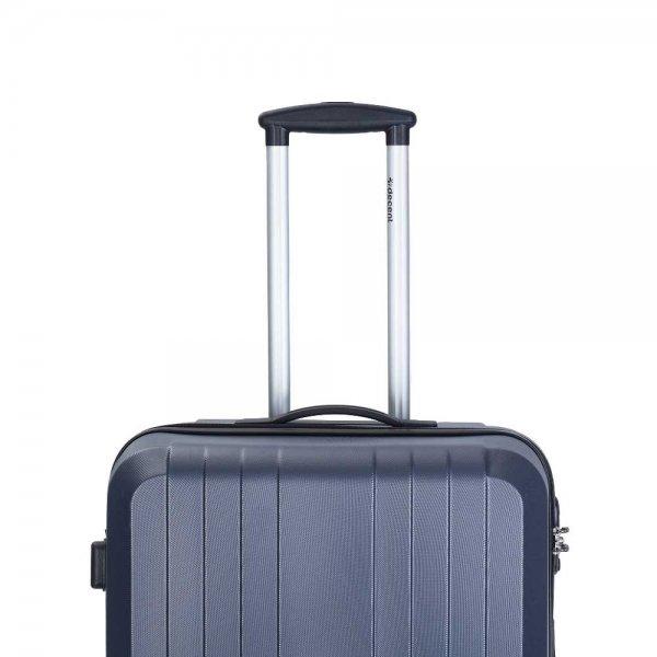 Decent Tobi Line 3-delige Kofferset antraciet van ABS