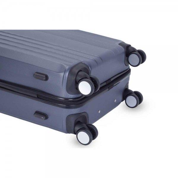 Decent Tobi Line 3-delige Kofferset antraciet