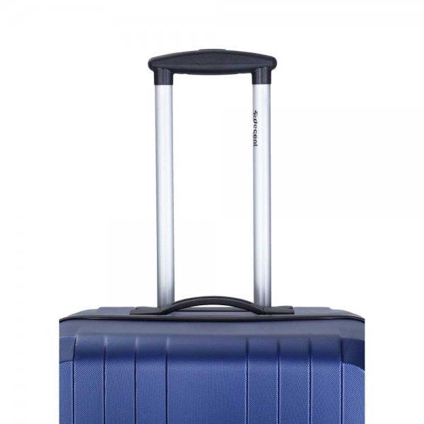 Decent Tobi Line 3-delige Kofferset d.blauw van ABS