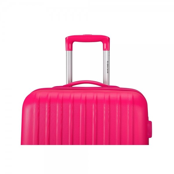 Decent Tranporto One 3-delige Kofferset pink van ABS