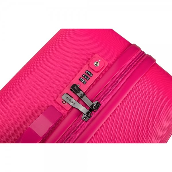 Decent Tranporto One 3-delige Kofferset pink