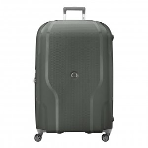 Delsey Clavel 4 Wiel Trolley 83 Expandable army green Harde Koffer