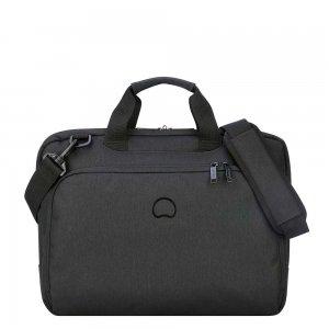 "Delsey Esplanade One Compartment Laptop Bag 15.6"" deep black"
