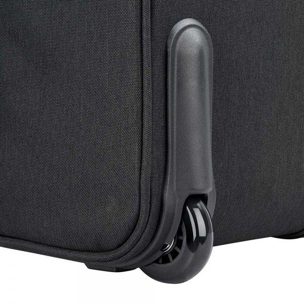 "Delsey Esplanade One Compartment Trolley Boardcase 15.6"" deep black Zakelijke koffer van Polyester"