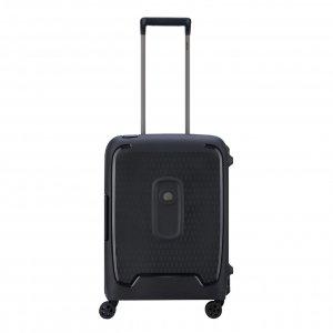 Delsey Moncey 4 Wheel Trolley 55 Slim black Harde Koffer