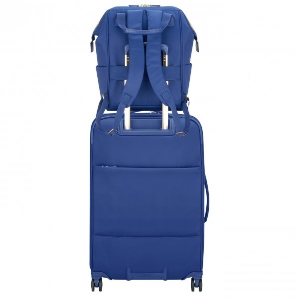 Delsey Montrouge Backpack M blue backpack