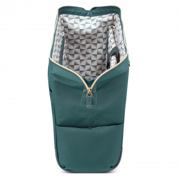 Delsey Montrouge Reporter Bag green van Polyester