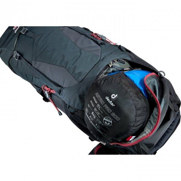 Deuter Aircontact Lite 35+10 SL Backpack graphite / black backpack van Nylon