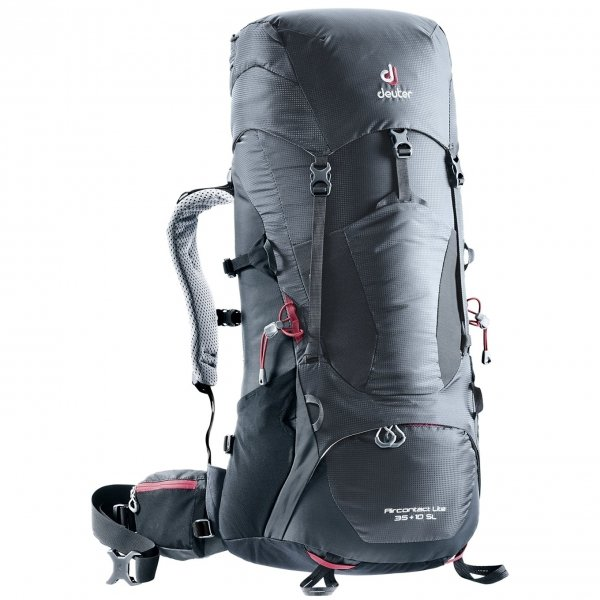 Deuter Aircontact Lite 35+10 SL Backpack graphite / black backpack