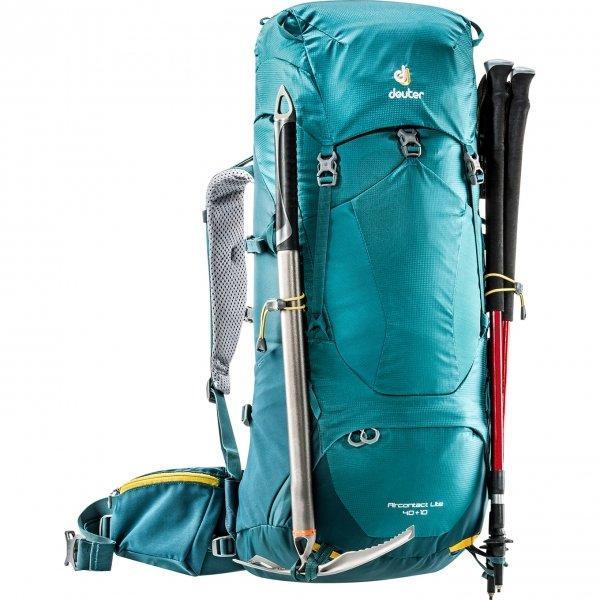 Deuter Aircontact Lite 40+10 Backpack denim / arctic backpack van Nylon