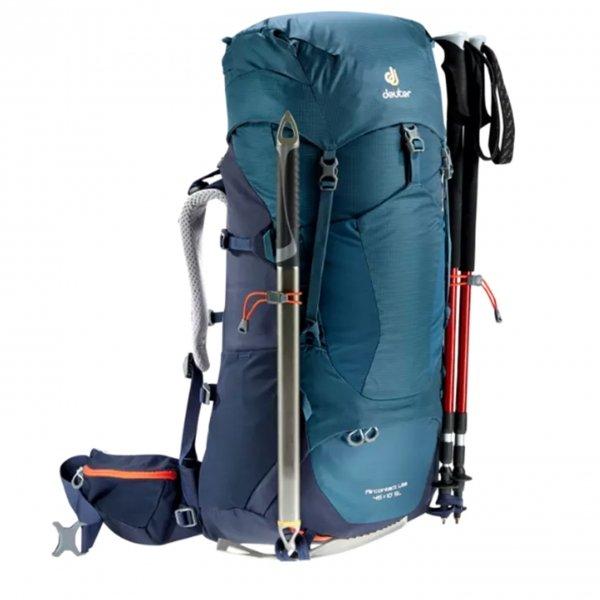 Deuter Aircontact Lite 45+10 SL Backpack graphite / black backpack van Nylon