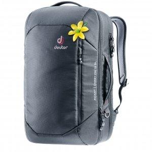 Deuter Aviant Carry On 28 SL black backpack