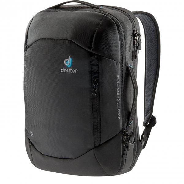 Deuter Aviant Carry On 28 black backpack