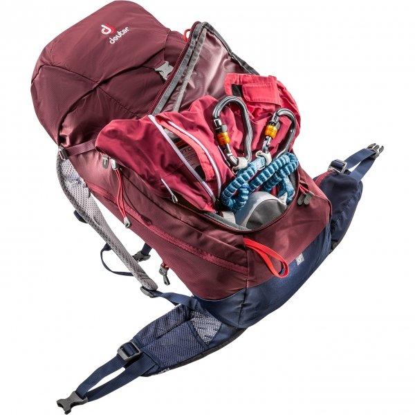 Deuter Trail 28 SL Backpack maron/navy backpack van Polyester
