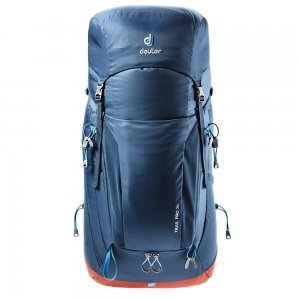 Deuter Trail Pro 36 Backpack midnight/lava backpack