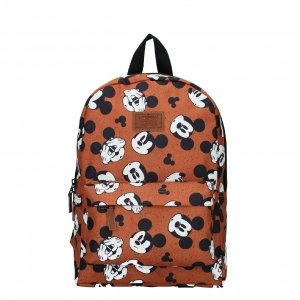 Disney Mickey Mouse My Own Way Backpack brown backpack
