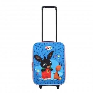 Disney Trolley Koffer Bing It's a Deal blue Zachte koffer