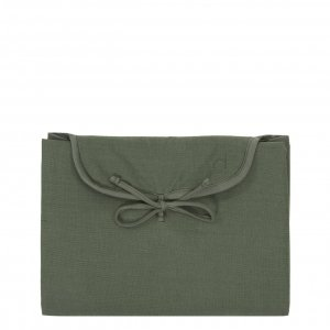 Dusq Changing Mat Cotton Blend marram green Luiertas
