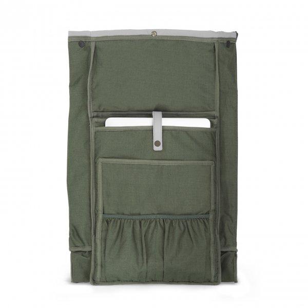 Dusq Family Bag Leather cloud grey backpack van Leer