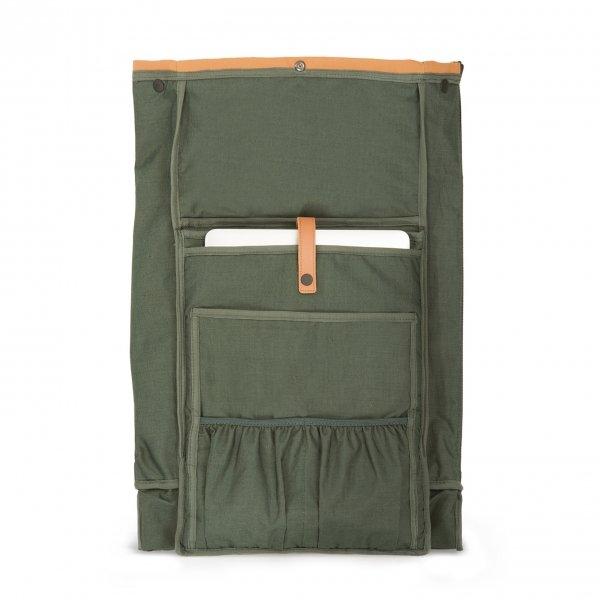 Dusq Family Bag Leather sunset cognac backpack van Leer