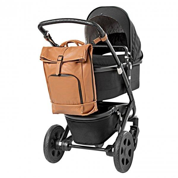 Dusq Family Bag Leather sunset cognac backpack
