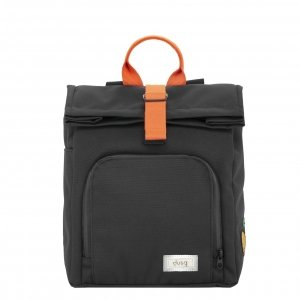 Dusq Mini Bag Canvas night black/fresh orange