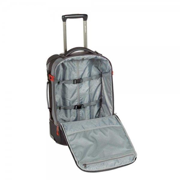 Eagle Creek Expanse Convertible International Carry-On stone grey Handbagage koffer Trolley van Nylon