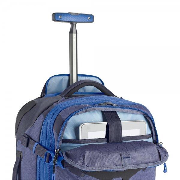 Eagle Creek Gear Warrior Wheeled Duffel International Carry On artic blue Handbagage koffer Trolley van Polyester