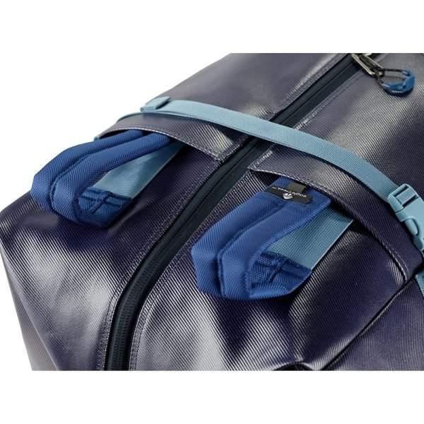 Eagle Creek Migrate Wheeled Duffel 130L artic blue Trolley Reistas van Polyester