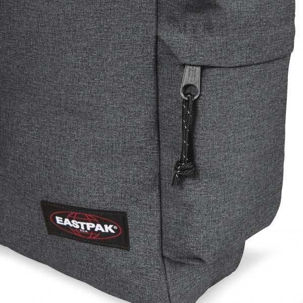 Eastpak Austin + Rugzak black denim backpack van Nylon