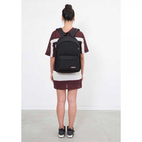 Eastpak Back To Work Rugzak black denim backpack van Nylon