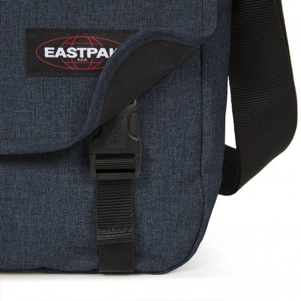 Eastpak Delegate + Schoudertas triple denim van Polyester