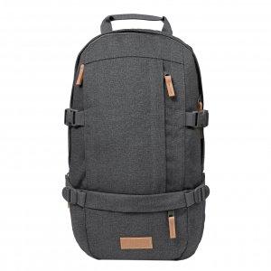 Eastpak Floid Rugzak black denim backpack