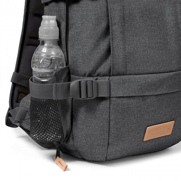 Eastpak Floid Rugzak black denim backpack van Polyester