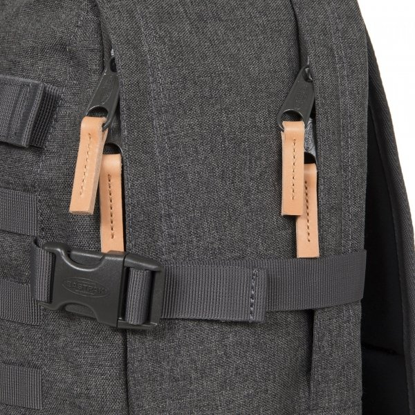 Eastpak Floid Tact L Rugzak black denim backpack van Polyester