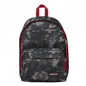 Eastpak Out Of Office Rugzak on top red backpack