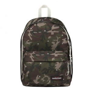 Eastpak Out Of Office Rugzak on top white backpack