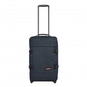 Eastpak Strapverz S Reistas triple denim Handbagage koffer Trolley