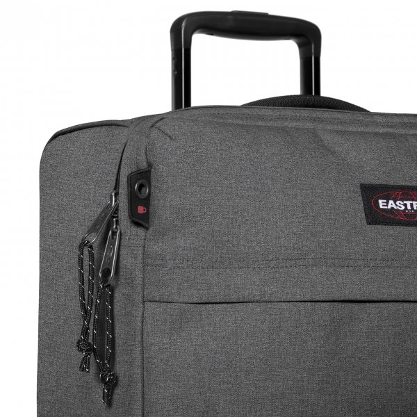 Eastpak Traf'ik 4 S black denim Zachte koffer