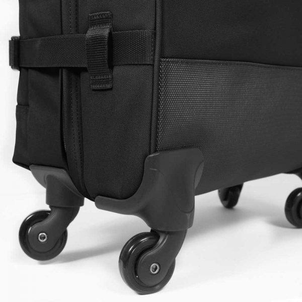 Eastpak Trans4 Trolley S black Zachte koffer van Polyester