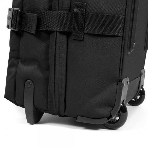 Eastpak Tranverz M black Trolley Reistas van Polyester