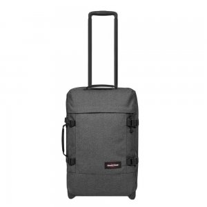Eastpak Tranverz S black denim Handbagage koffer Trolley
