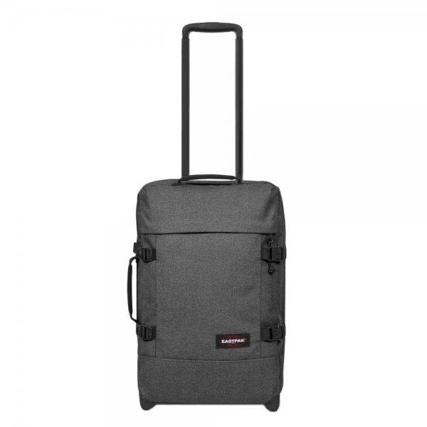 Eastpak Tranverz S black denim Handbagage koffer Trolley