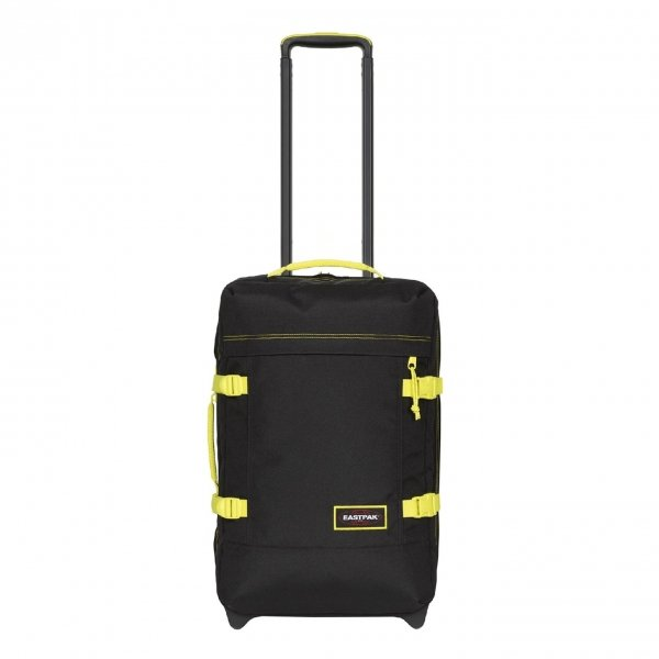 Eastpak Tranverz S kontrast lime Handbagage koffer Trolley