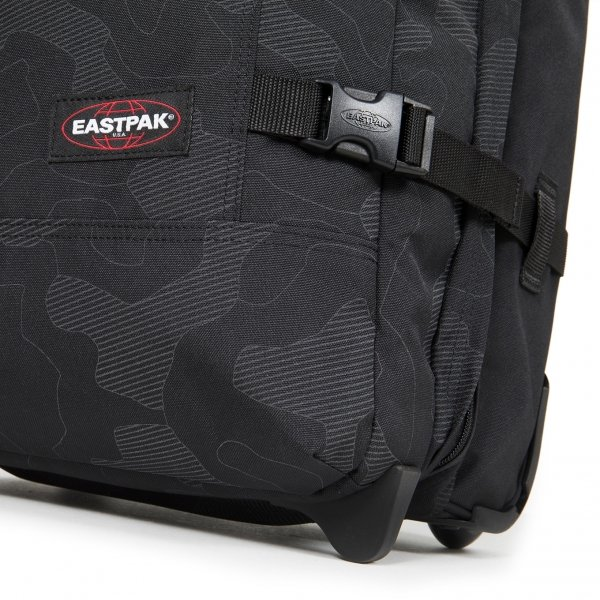 Eastpak Tranverz S reflective camo black Handbagage koffer Trolley van Polyester